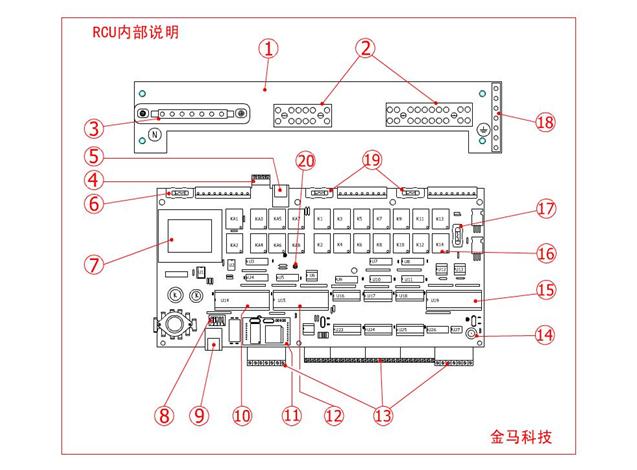 酒店客房控制系统设备接线说明
